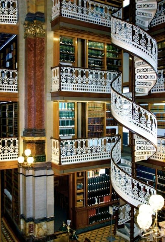 Юридическа библиотека в Айова, САЩ.