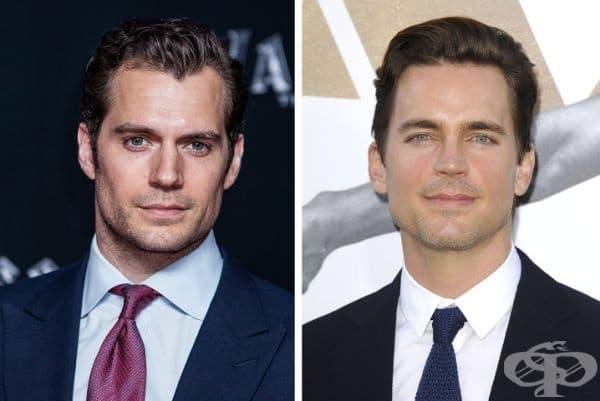 Между Супермен и Вълшебния Майк има много тънка линия с Хенри Кавил и Мат Бомър, които вероятно правят обмен на роли.