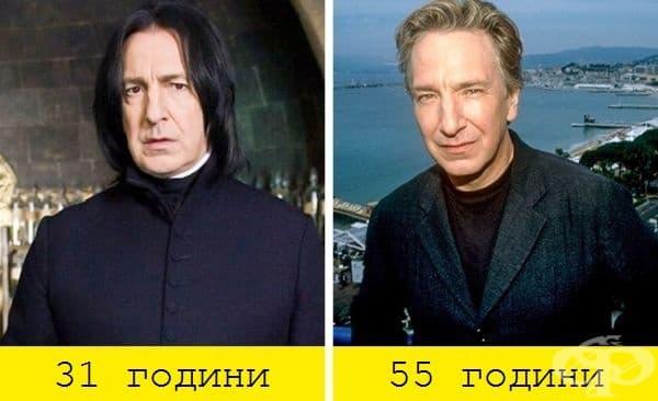 """Сивиръс Снейп / Алън Рикман (""""Хари Потър и Философският камък"""", 2001)"""