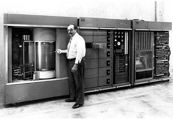 5 MB твърд диск. IBM, 1956 г.
