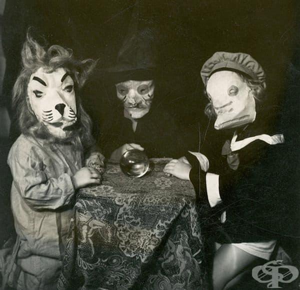 Можете ли да познаете каква са техните маски?