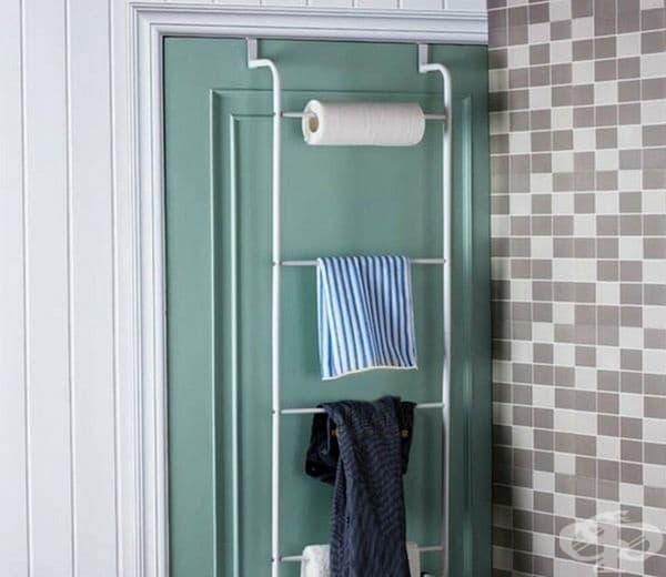 Органайзерът над вратата е добър вариант за спестяване на място.