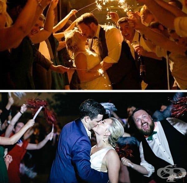 """""""Моят приятел направи фотобомба на сватбата ми преди 4 години. Преди няколко седмици му я върнах."""""""