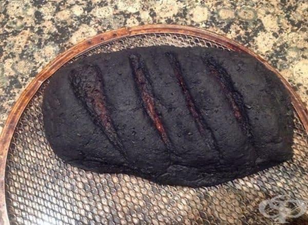 Препечен? Направо изгорял.
