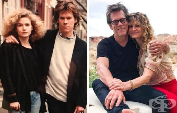 Кира Седжуик: 30 години брак. Кира и Кевин Бейкън се срещат на сцената на Lemon Sky през 1987 година. Една година по-късно той става неин съпруг.