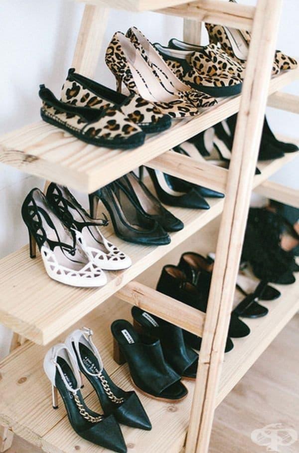 Или за обувки.