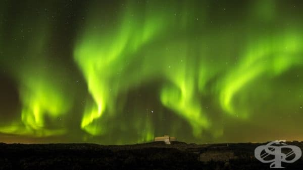 Северното сияние, Норвегия.