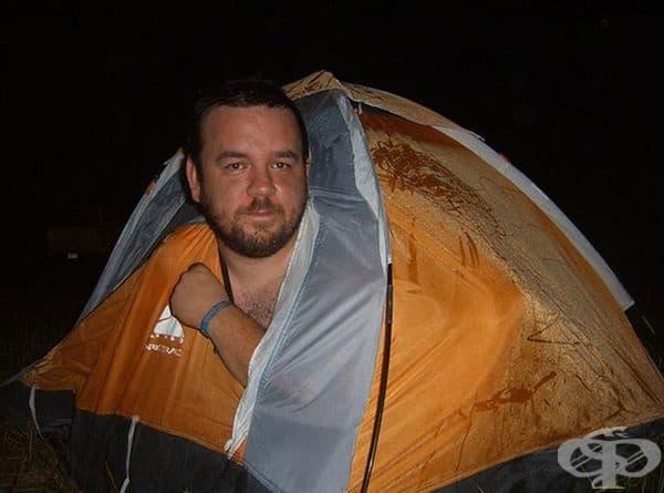 Палатка - мечта.