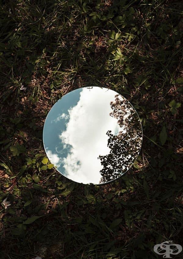 Красотата на природата в образа на огледалото
