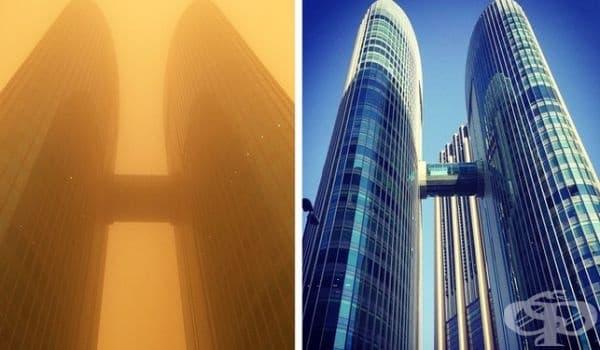 Пясъчна буря в Дубай, 2015 г.