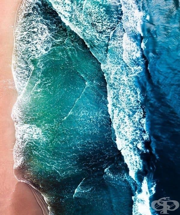 Лице от океан.