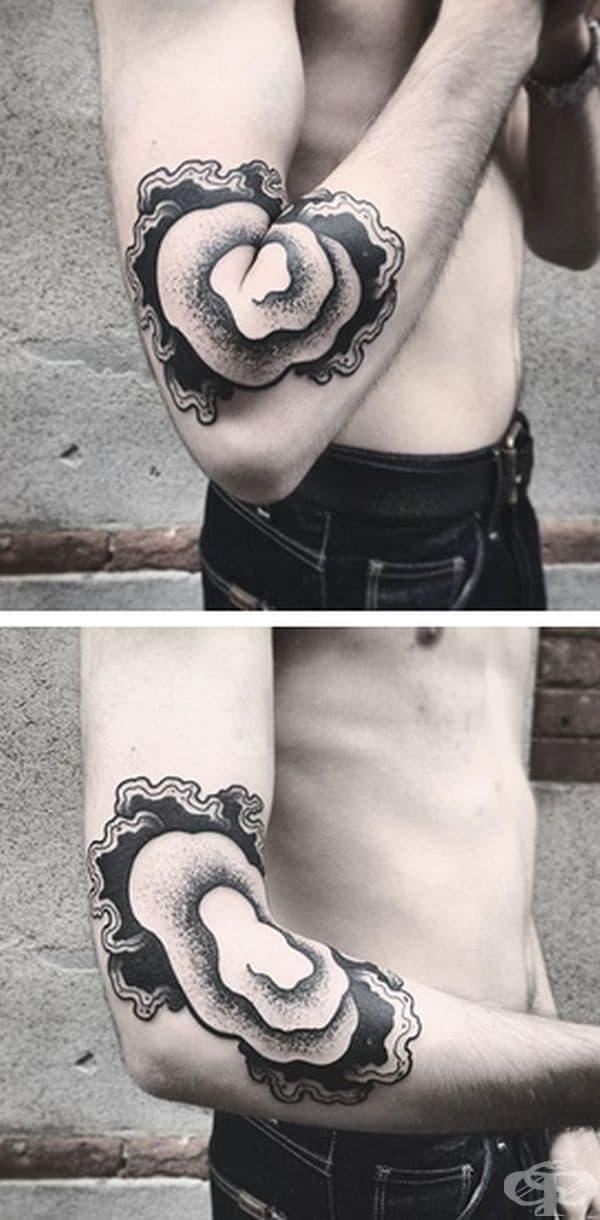 12 татуировки, които изглеждат съвсем обикновено, докато не се разтвори ръката или крака
