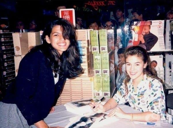 И накрая: Ева Мендес иска автограф от Алиса Милан, 1989.