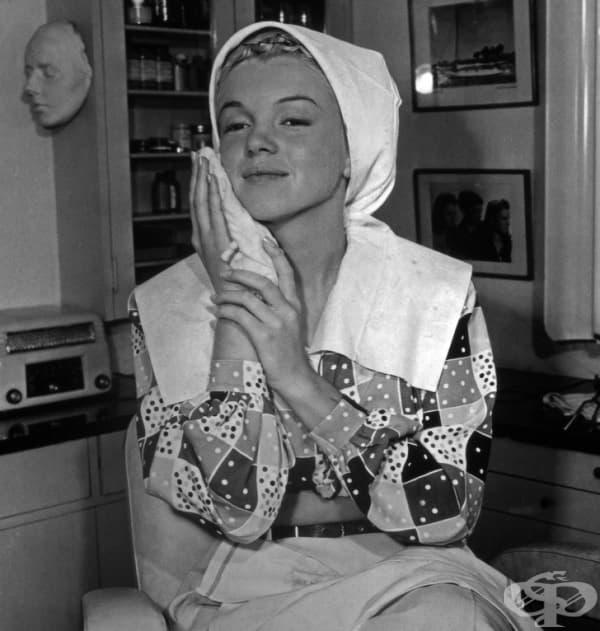 Мерилин Монро без грим.