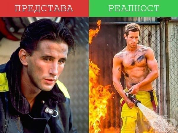 Пожарникари - Изглежда стереотипите са верни в някои случаи!