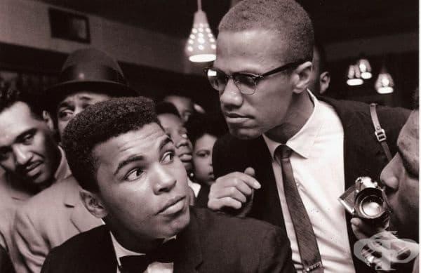 Малкълм Х и Мохамед Али, Ню Йорк, 1963.