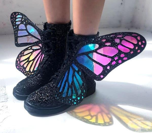 Обувки за истински феи.