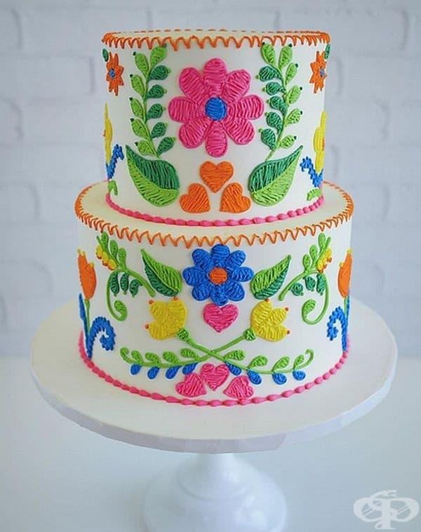Невероятни торти или бродерия?
