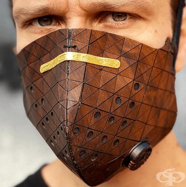 Дървена маска, не е ли вълнуващо?