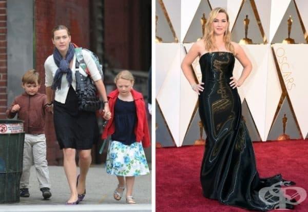 Кейт Уинслет е майка на 3 деца. Признава, че не се е теглила от 12 години и не знае колко тежи. Актрисата препоръчва на жените да не обръщат толкова голямо внимание на теглото си, за да не страдат от комплекси.