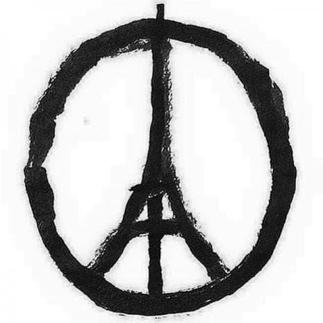 Светът изразява своята съпричастност с Франция - 13 ноември, 2015 година