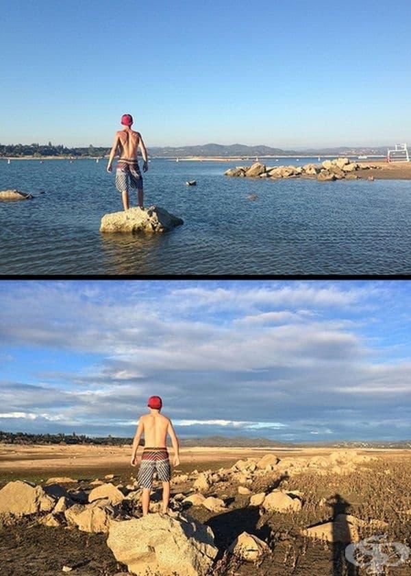 Цяло езеро може да изчезне в определен момент.