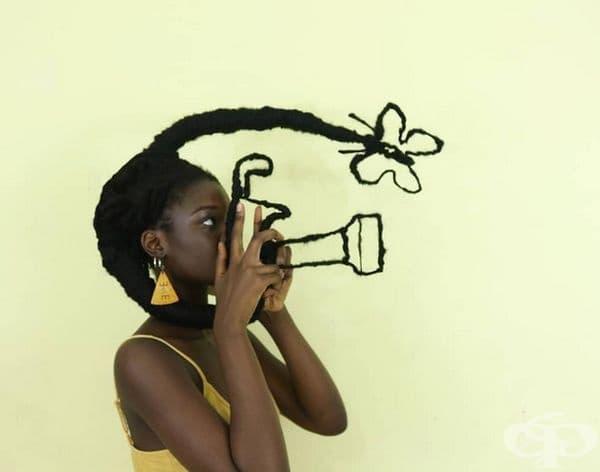 """Дали успях да фотографирам пеперудата?"""