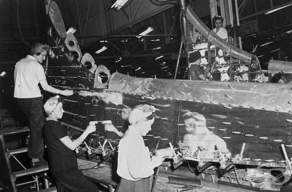 Всеки месец те произвеждали около 300 бомбардировачи.