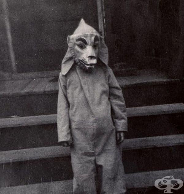 Този костюм не е от най-плашещите.