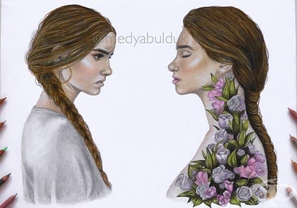 """""""Когато станете по-силни и мъдри, хората започват да разпитват и говорят колко много сте се променили и колко лошо е това."""""""
