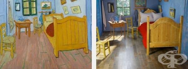 Известни картини оживяват в модерни интериори