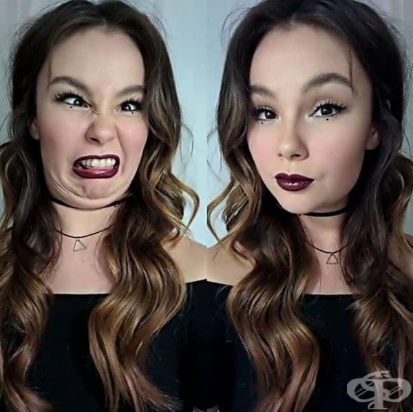 Красивите момичета също могат да изглеждат смешно