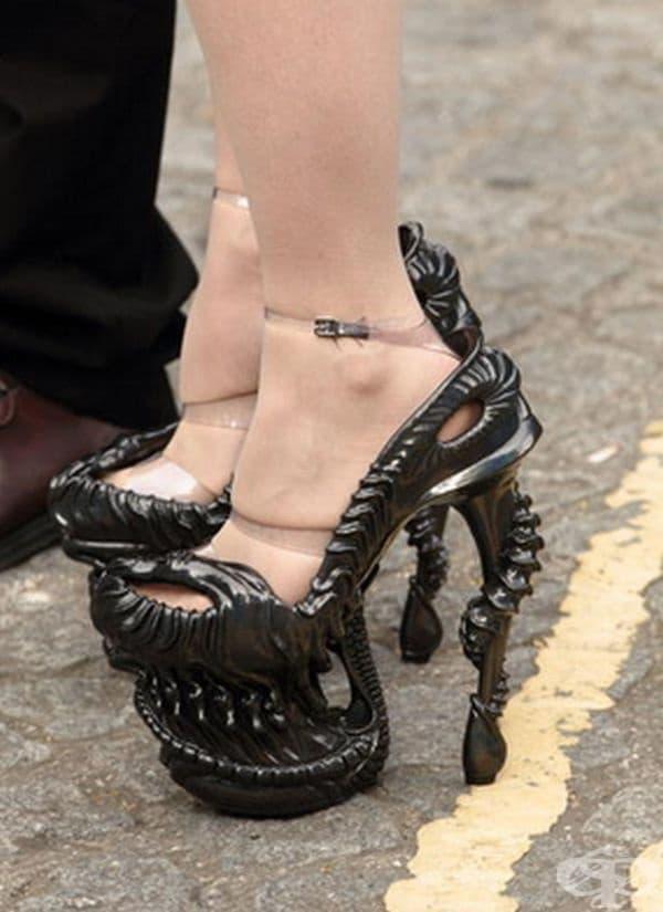 В такива обувки няма да останете незабелязани.