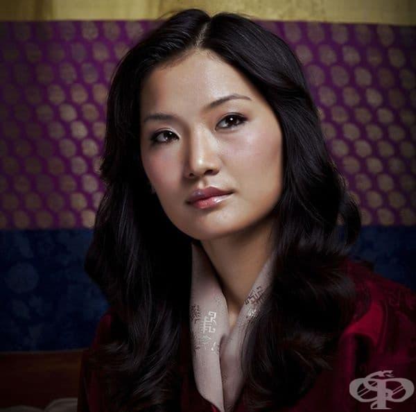 Йетсун Пема, кралица на Бутан.