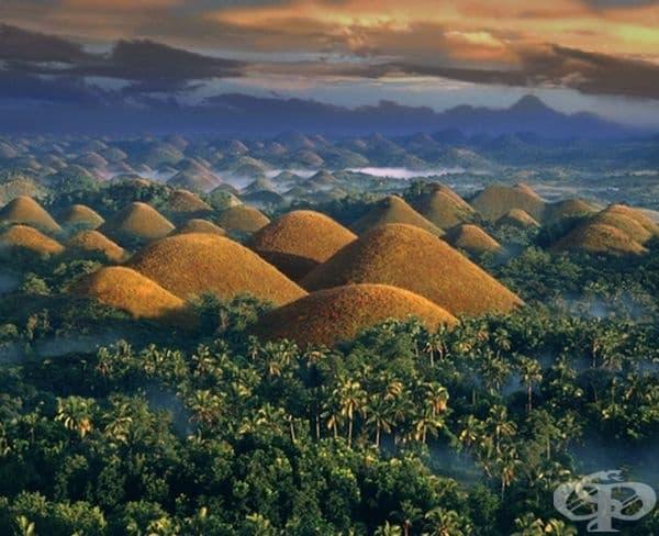 Шоколадовите хълмове на Филипините.