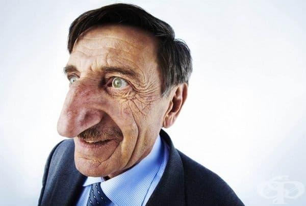 Или нос.