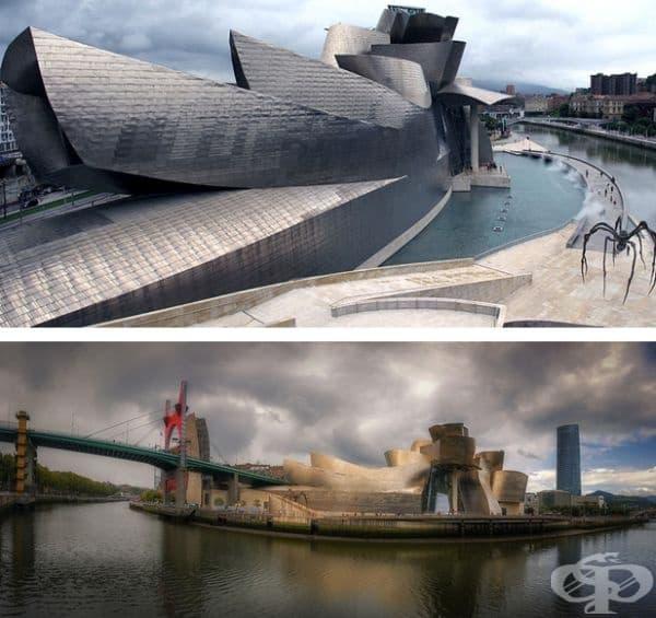 Музей Гугенхайм - Билбао, Испания.