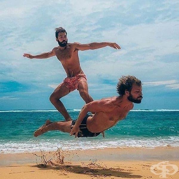 Съвсем натурален сърф.