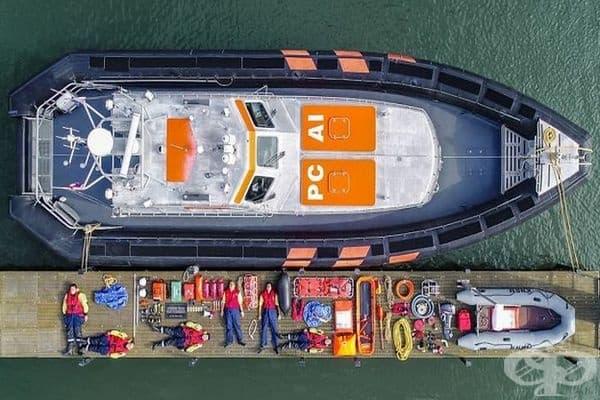 KNRM Station Hoek спасителна лодка Van Holland
