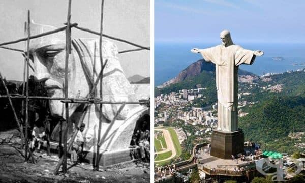 Статуята на Христос Спасител, Рио де Жанейро, Бразилия.Строителство: 1922-1931 г