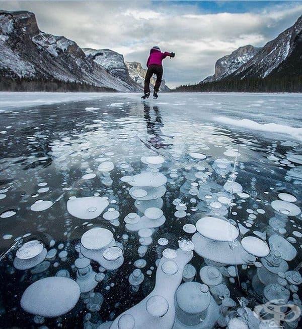 Езеро Миневанка в Канада.