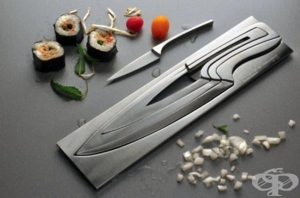 Нож в ножа - лесен за употреба и много стилен.