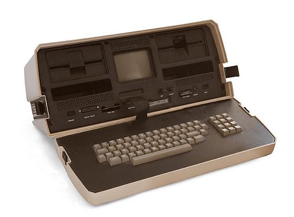 Един от първите лаптопи Osborne 1, 1981 г.
