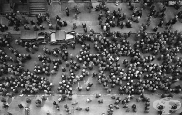 През 1939 г в Ню Йорк всички са носели шапки.