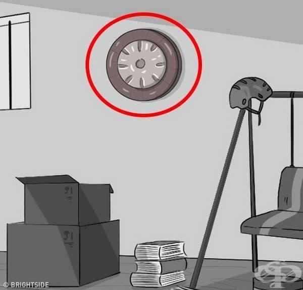 Часовник. Той показва, че се движите в кръг и не желаете да направите промяна.