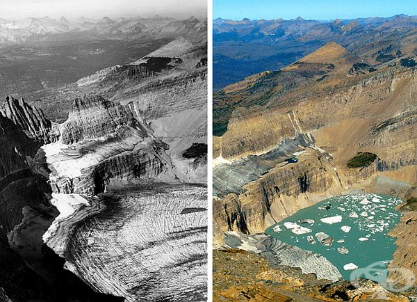 Ледникът Гринъл в Национален парк Глейсиър вече едва ли може да се нарече ледник.
