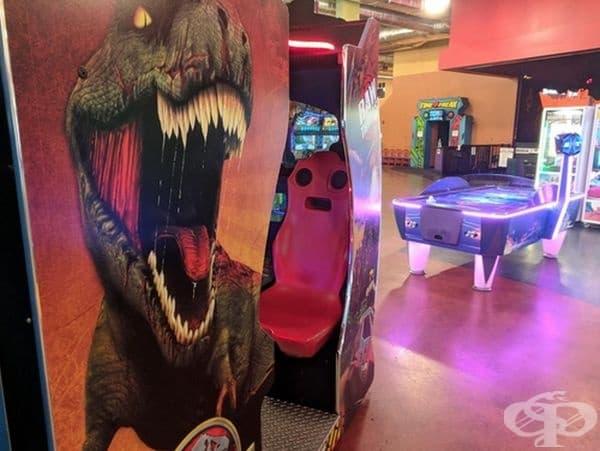 Този стол е наистина уплашен.