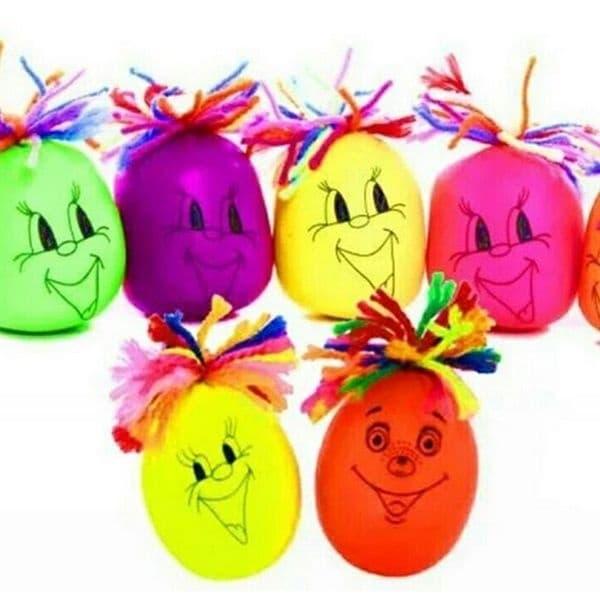 Много добре знаете с какво са пълни тези балони.