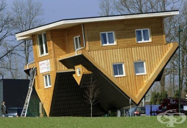 20 обърнати къщи, в които всеки би се чувствал странно - изображение