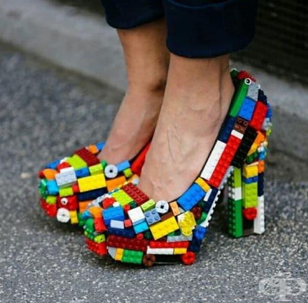 Ето как може да преобразите старите си обувки с комплект Lego.